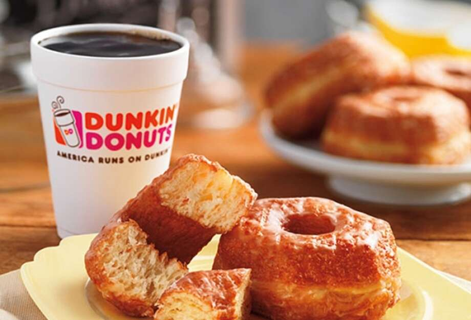 On Friday, April 15, 2016, local Dunkin' Donuts franchisees The D'Andrea Group will host a birthday breakfast in honor of Milford resident Michael N. Marcus.  But this is a special breakfast, because to celebrate his 70 birthday, Mr. Marcus will try his first cup of coffee… ever. Photo: Courtesy Of Dunkin' Donuts