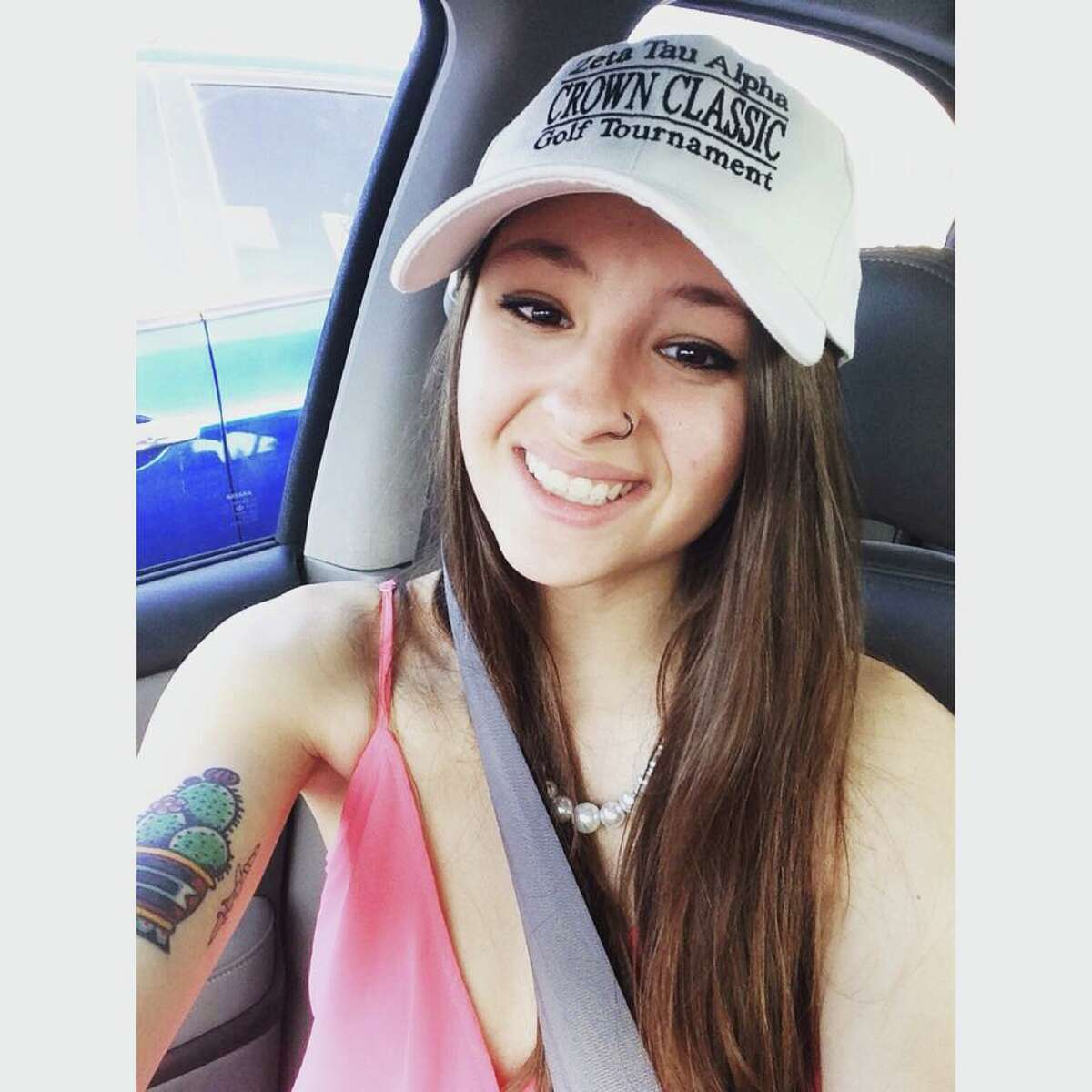 Sara Mutschlechner, a 20-year-old University of North Texas student from the San Marcos area, was shot and killed during a traffic altercation after a New Year's Eve party on Jan. 1, 2016, in Denton.