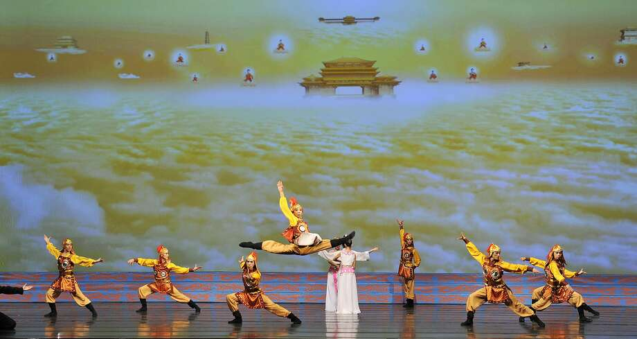 A scene out of this year's production from Shen Yun Performing Arts, which runs through Jan. 10 at the War Memorial Opera House. Photo: Daibing, Shen Yun Performing Arts