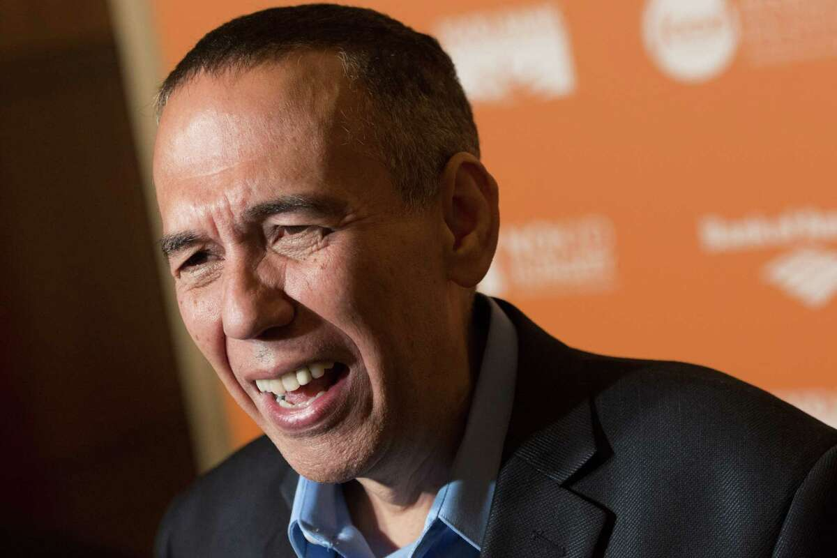Gilbert Gottfried, Aug. 4, 2021, at The Comedy Works in Saratoga Springs. (Photo by Charles Sykes/Invision/AP Images)