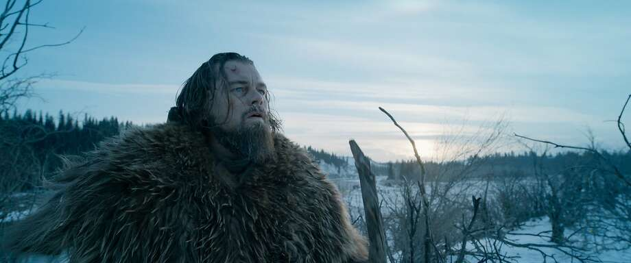 "This photo provided by courtesy of  Twentieth Century Fox shows, Leonardo DiCaprio as Hugh Glass, in a scene from the film, ""The Revenant,"" directed by Alejandro Gonzalez Inarritu. The movie opens in limited release on Dec. 25, 2015, and wider release in U.S. theaters on Jan. 8, 2016. (Courtesy Twentieth Century Fox via AP) Photo: Associated Press"