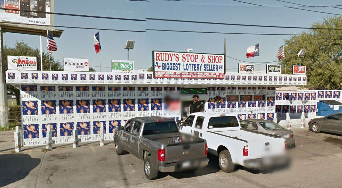 Places that sell the most lottery tickets in the Houston area No.1 in Houston South Rudy's Stop & Shop 1018 Damon Street Rosenberg, Texas