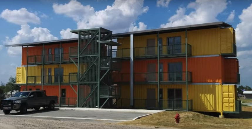 Container Style Apartment Complex Completed On Eagle Ford