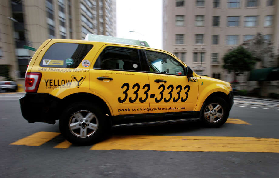 Yellow Cab Co-op is considering filing for Chapter 11, six months after an accident victim was awarded $8 million. Photo: Brant Ward / Brant Ward / The Chronicle 2014 / ONLINE_YES