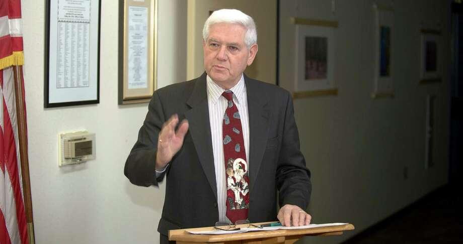 George Walker Photo: H John Voorhees III / H John Voorhees III / The News-Times Freelance