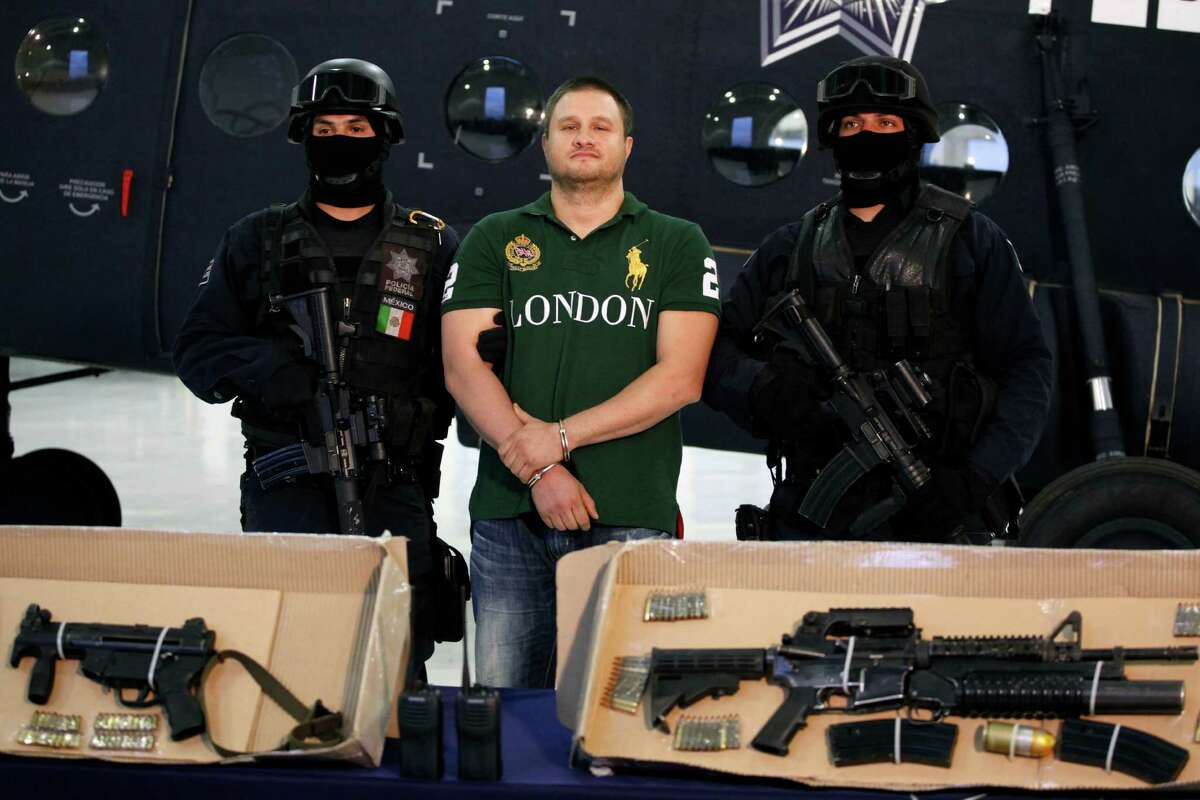 """Edgar Valdez Villarreal Texas-born Edgar Valdez Villarreal, alias """"La Barbie,"""" was arrested in Mexico City on Aug. 31, 2010. Valdez was wanted in the United States and Mexico for allegedly smuggling tons of cocaine. He was also blamed for a brutal turf war that has included bodies hung from bridges, decapitations and shootouts as he and a rival fought for control of the divided Beltran Leyva cartel."""