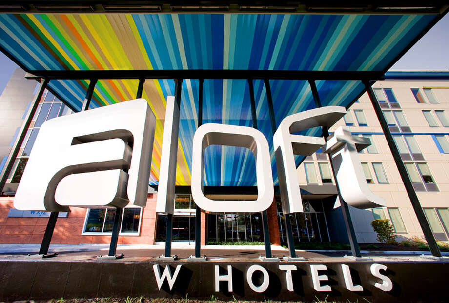 Aloft was the fastest-growing brand in 2015 for Starwood Hotels & Resorts Worldwide. Pictured is Aloft Austin at the Domain in Austin, Texas which opened in August 2015. Photo: Aloft