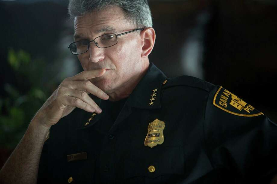 San Antonio Police Chief William McManus says he plans to comply with the request for data. Photo: Carolyn Van Houten / Carolyn Van Houten / 2015 San Antonio Express-News