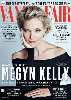 Vanity Fair cover, February issue