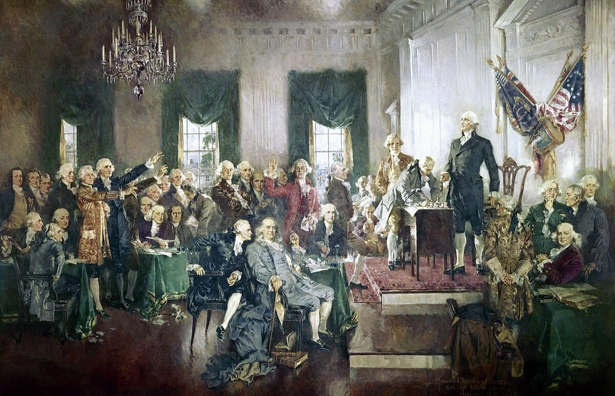 EXPLAINER: What it takes to change the Constitution ... Creating the Constitution The Founding Fathers knew they didn't create a perfect document when they laid down the Constitution. But a series of compromises and negotiations produced America's founding document.