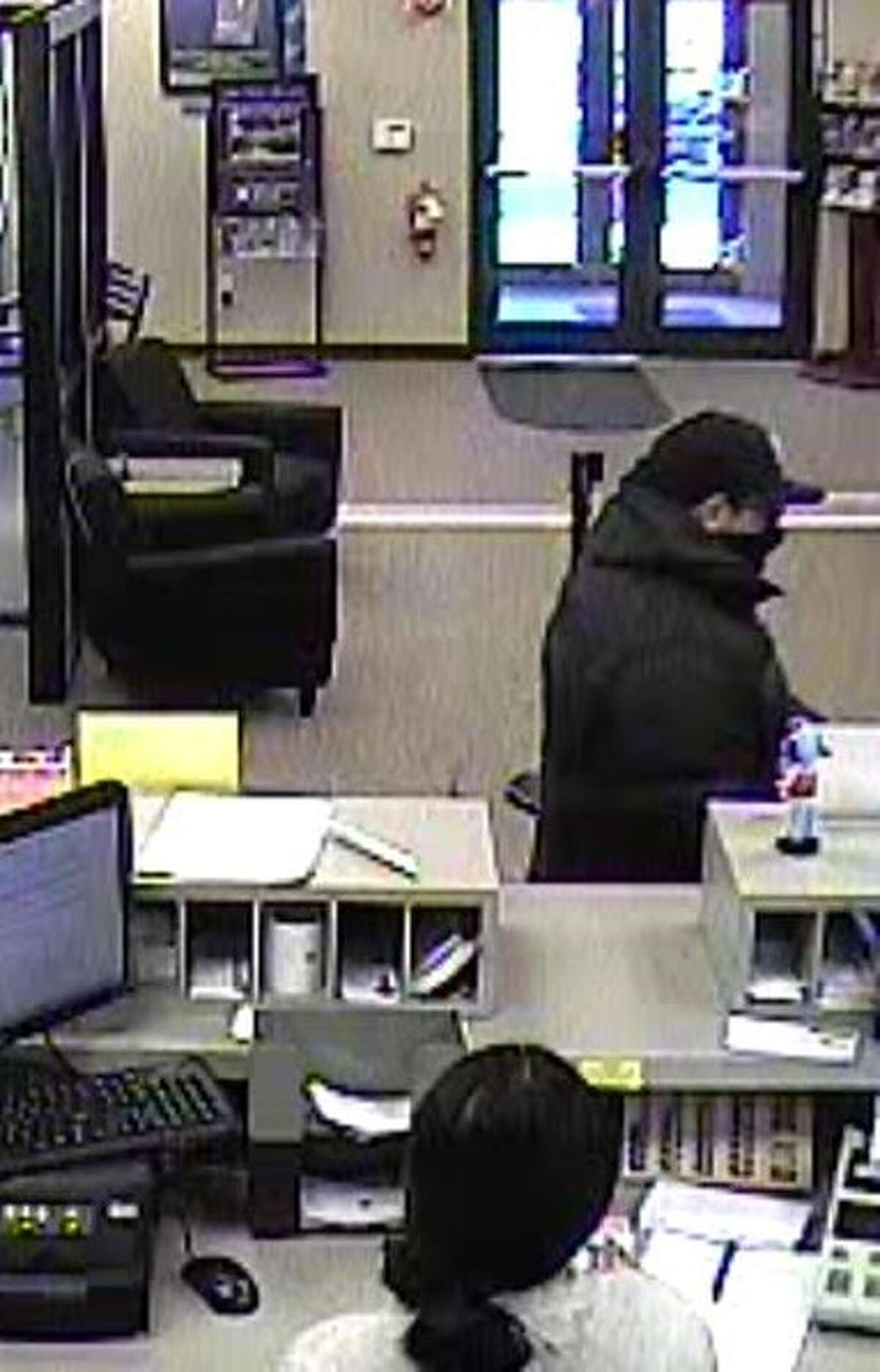 Police released this image in the investigation into a robbery of a TrustCo Bank in Rotterdam on Wednesday afternoon Jan. 6, 2016. (Rotterdam police photo)