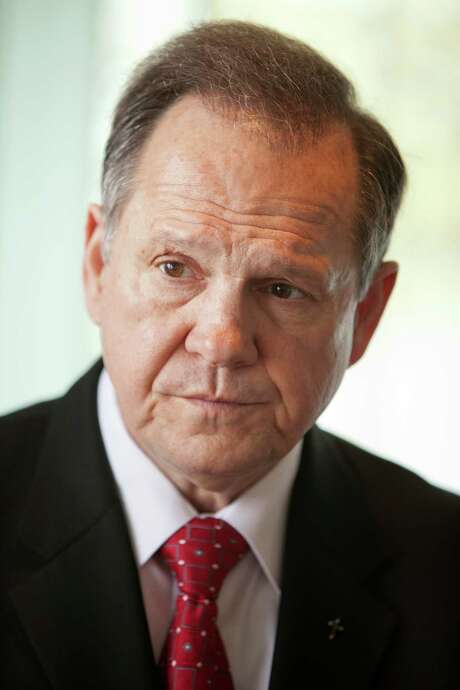 "Chief Justice Roy Moore says conflicting rul- ings — the high court's and his court's — caused ""confusion."" Photo: CARY NORTON / New York Times / NYTNS"