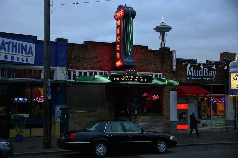 The Mecca Cafe has been family owned since it opened in 1930 in Lower Queen Anne.  Photographed Dec. 15, 2015.The Mecca is known as one of Seattle's oldest surviving cafes. It opened one year after the also-legendary 5 Point Cafe -- and was owned by the same couple. Photo: GENNA MARTIN, SEATTLEPI.COM / SEATTLEPI.COM