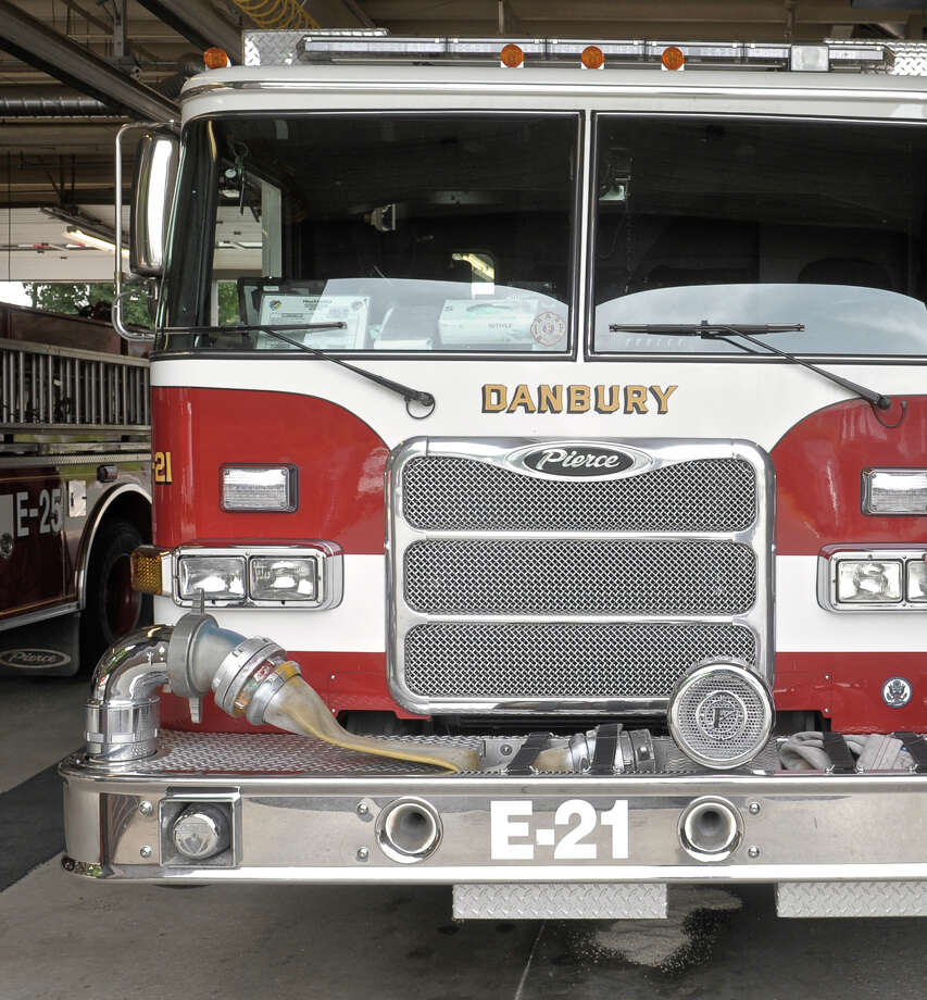 A Danbury Fire Department truck Photo: H John Voorhees III / Hearst Connecticut Media / The News-Times