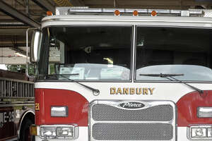 A Danbury Fire Department truck