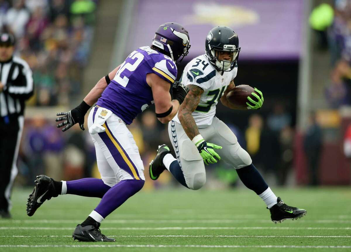 RB Thomas RawlsPFF grade: 81.1 While Lynch was struggling with injuries, undrafted rookie Rawls stepped up big in his place, rushing for 830 yards and four touchdowns in seven starts, including a 209-yard effort versus San Francisco in Week 11. A broken ankle three weeks later ended his season prematurely, but there's no doubt Rawls was another specatular find for GM John Schneider. Grade: A
