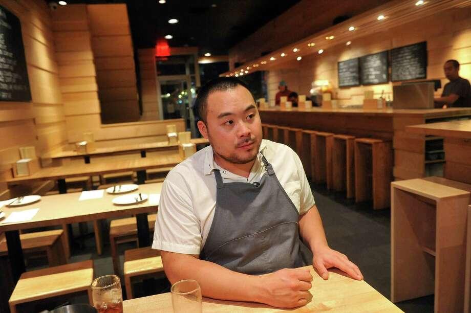 David Chang at his Momofuku Noodle Bar in New York City. Photo: Diane Bondareff, AP Photo / ONLINE_YES