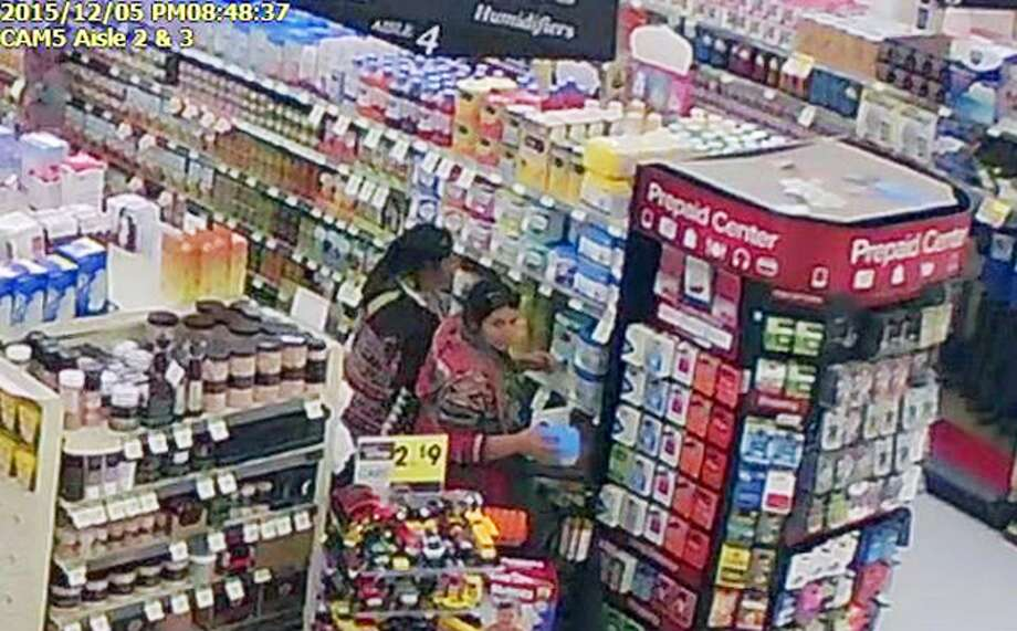 A store surveillance video in Logan, Utah, shows women police say were shoplifting baby formula. Photo: Associated Press