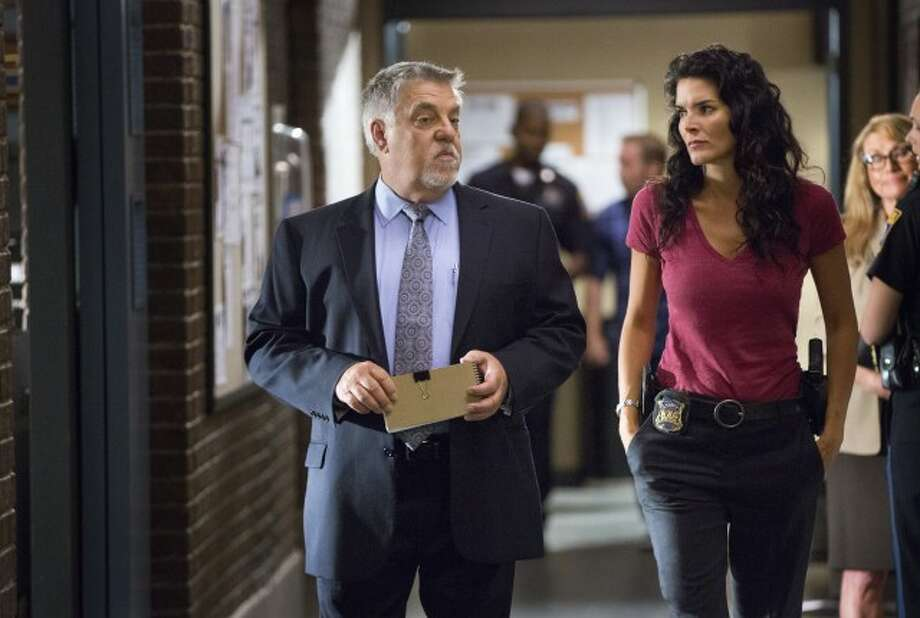 San Antonio's Bruce McGill with Angie Harmon in 'Rizzoli & Isles.' Photo: TNT