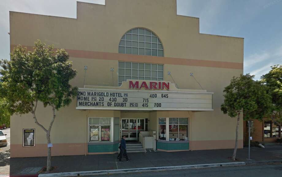 Sausalito's CineArts Marin theater will go dark later this month, after more than 60 years in business, and now talks are underway about its future. Photo: Google Maps