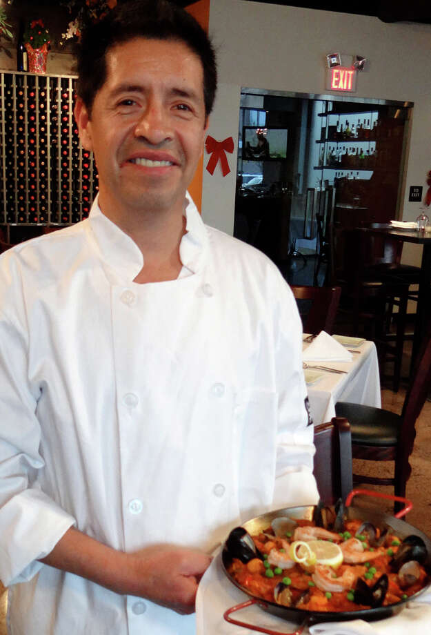 Daniel Lopez, the chef/owner of Taberna restaurant, plans to donate part of its profits over the next three months to the Connecticut Food Bank. Photo: Contributed Photo / Fairfield Citizen