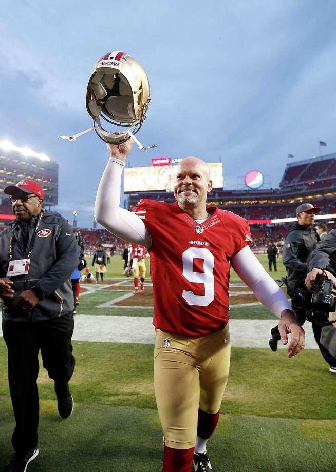 Award winners: Phil Dawson named 49ers' MVP