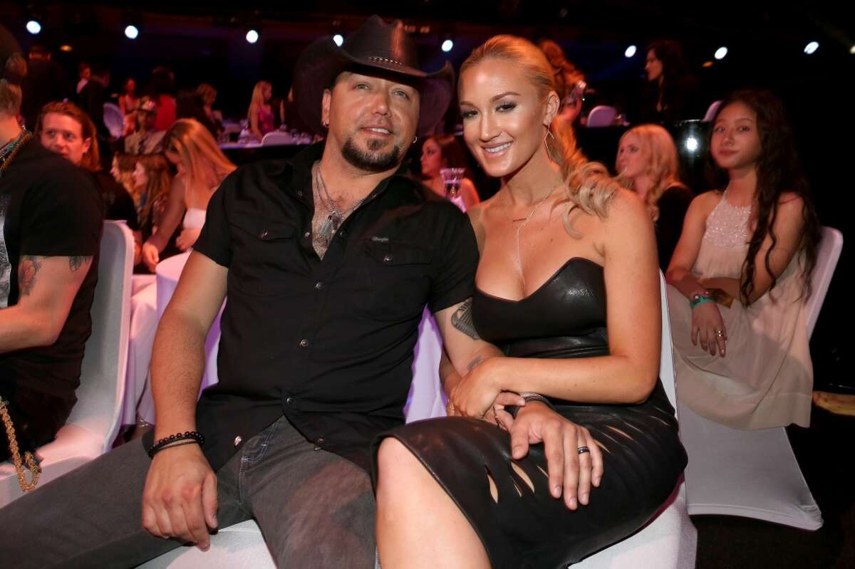 Jason Aldean and Brittany Kerr were married in Cancún, Mexico in 2015.