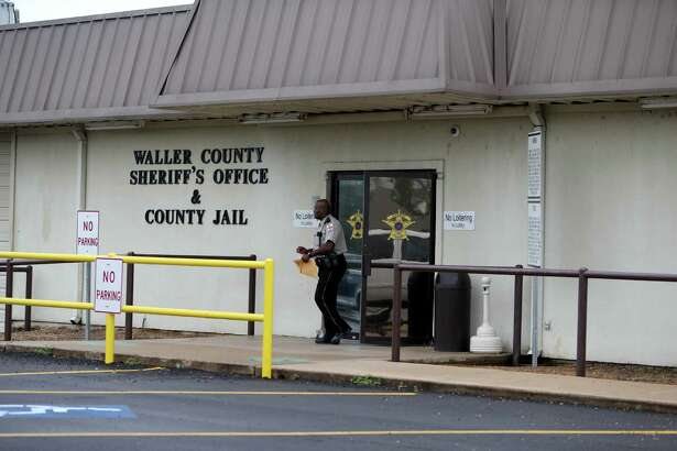 The Waller County Sheriff's Office and County Jail where Texas Department of Public Safety officer Brian Encinia turned himself in, after being indicted of perjury charges in the arrest of Sandra Bland in early July of last year, Thursday, Jan. 7, 2016, in Hempstead, Texas. Bland was found dead three days later in her Waller County jail cell.