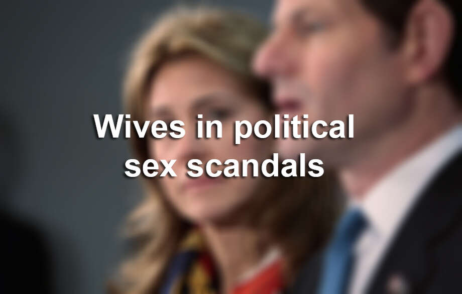 All but five of these wives in these recent political sex scandals stood by their men.