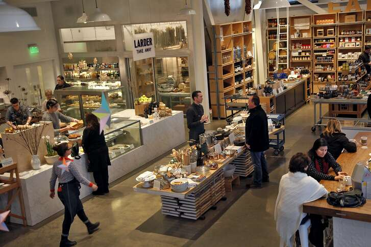 """Shed aims to be a """"modern grange"""" in downtown Healdsburg, Calif., on Wednesday, December 30, 2015."""