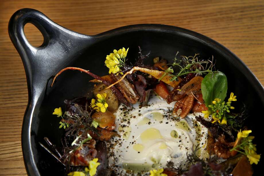 The Preston Farm Carrot Salad with Yogurt at Shed Cafe in Healdsburg. Photo: Preston Gannaway, Special To The Chronicle