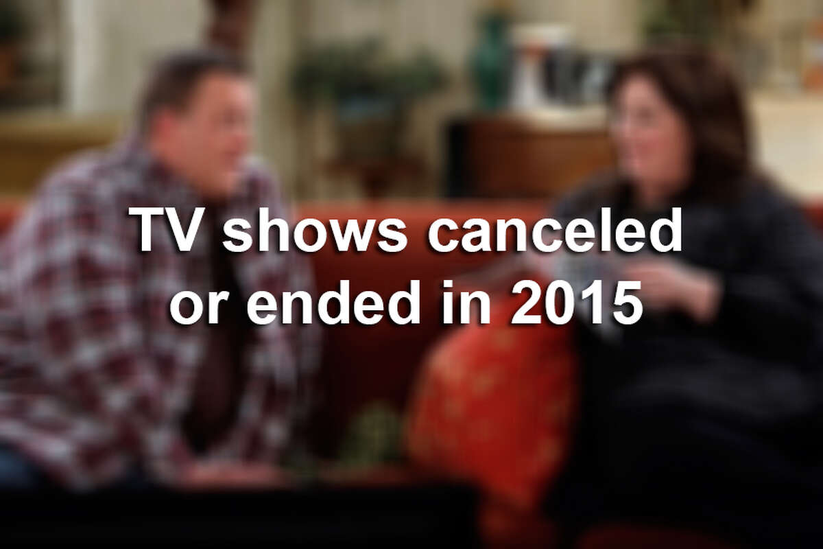 TV shows that were canceled or have ended in 2015