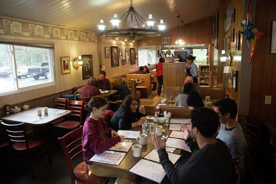 Chace's Pancake Corral in Bellevue dates from the 1950's, vastly popular on weekend mornings. photographed on Tuesday, Jan 5, 2016. Photo: Grant Hindsley, SEATTLEPI.COM / SEATTLEPI.COM