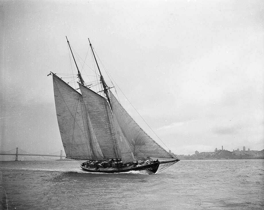 The Zaca yacht, August 1942.