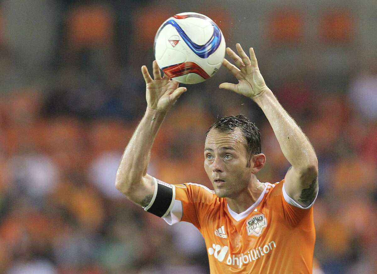 Longtime Dynamo midfielder Brad Davis describes his trade to Sporting KC as