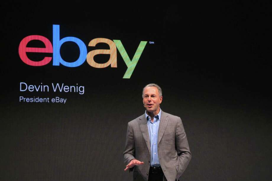 At eBay, which is led by CEO Devin Wenig, hackers gained control of a small number of employee log-ins in 2014 and breached a company database containing customer information Photo: Frank Jordans / Frank Jordans / Associated Press 2013 / AP