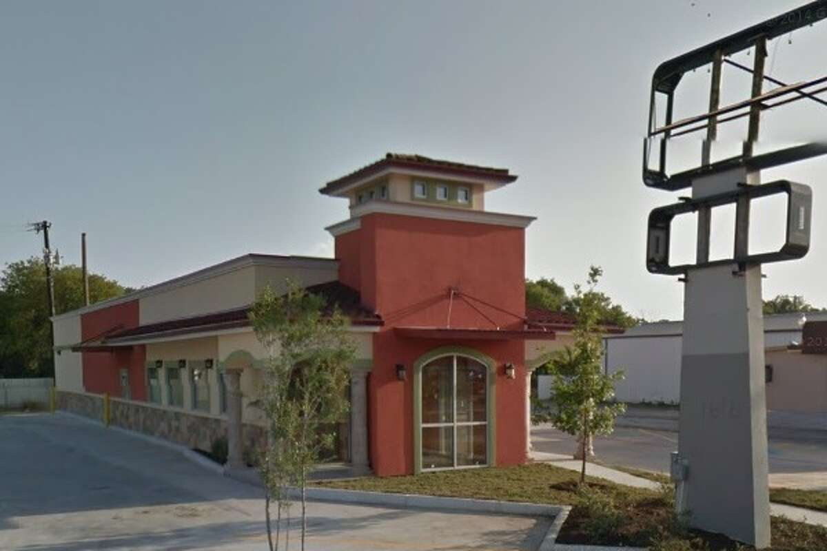 Taqueria Guadalajara #8: 1616 S.W. Military Drive, San Antonio, Texas 78221Date: 05/04/2016No. of violations: 13Highlights: food not protected from cross contamination (raw shell eggs stored above ready-to-eat foods in walk-in cooler), grease barrel must be removed frequently to minimize odor and harborage of pests, food not cooled at proper temperature