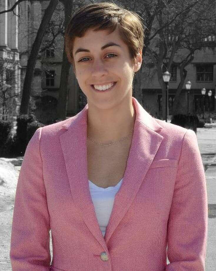 Wilton High School graduate Taylor Feehley