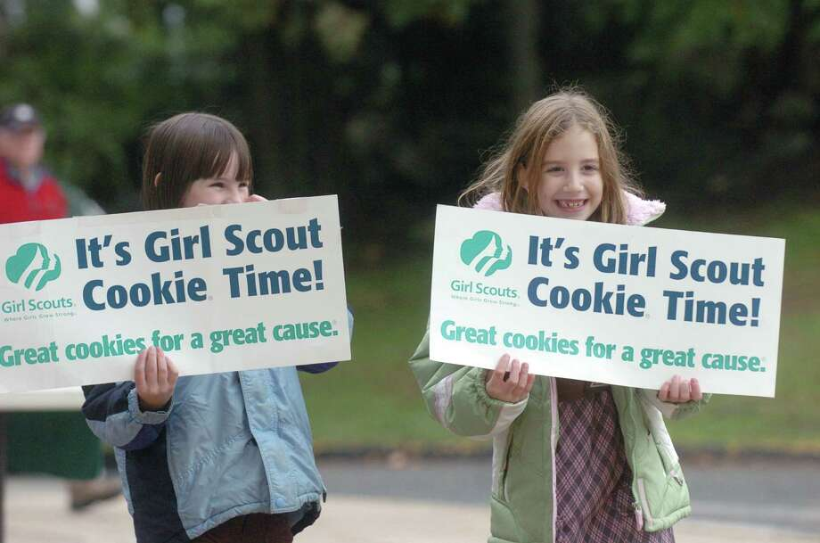 Girl Scouts Cookie Rally is at Danbury Fair mall Jan. 9 from noon to 4 p.m.. Photo: File Photo