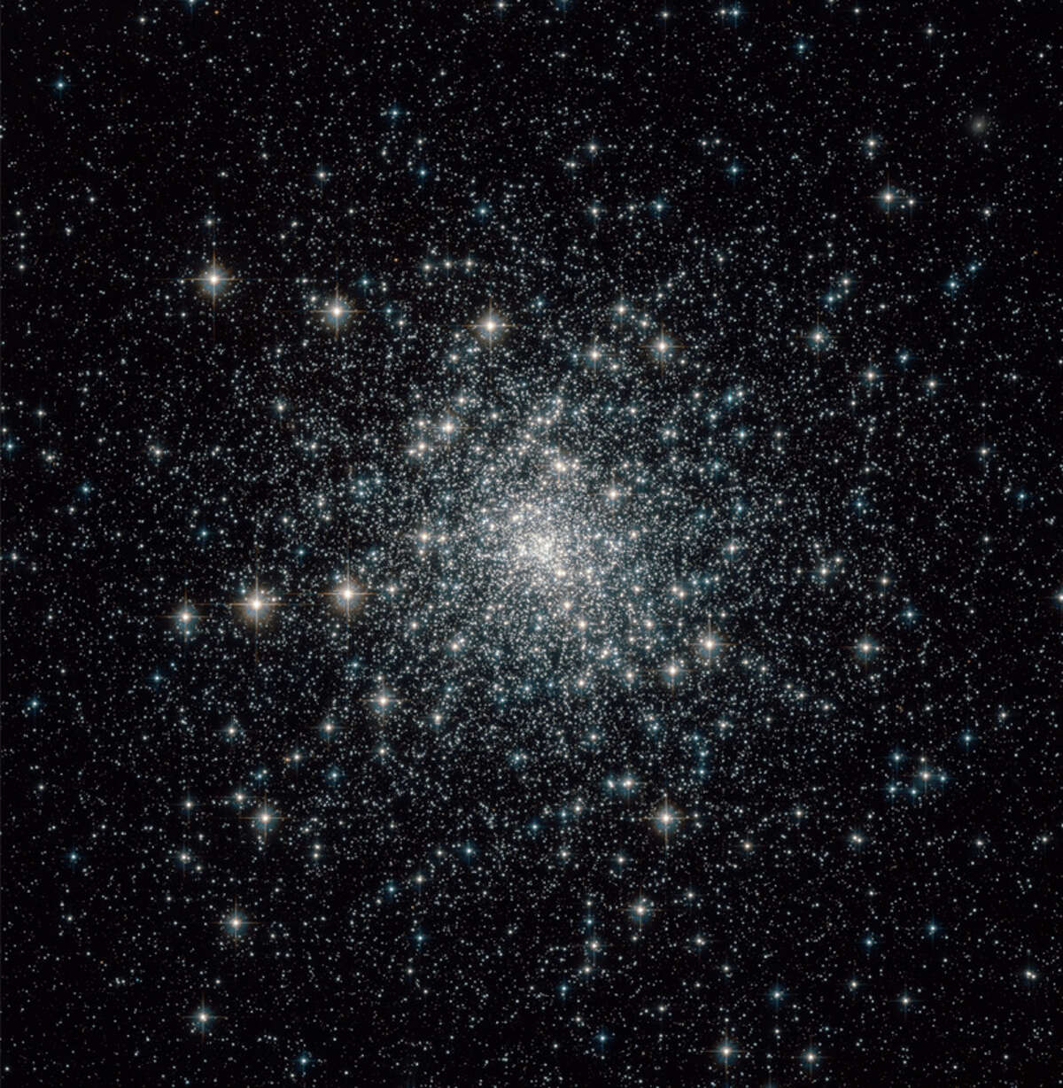 The M30 globular cluster, a 13 billion-year-old dense collection of stars, about 90 light years across and 28,000 light years from Earth. Keep clicking to see photos of other globular star clusters by NASA's Hubble telescope...   Photo credit: NASA, Hubble Telescope