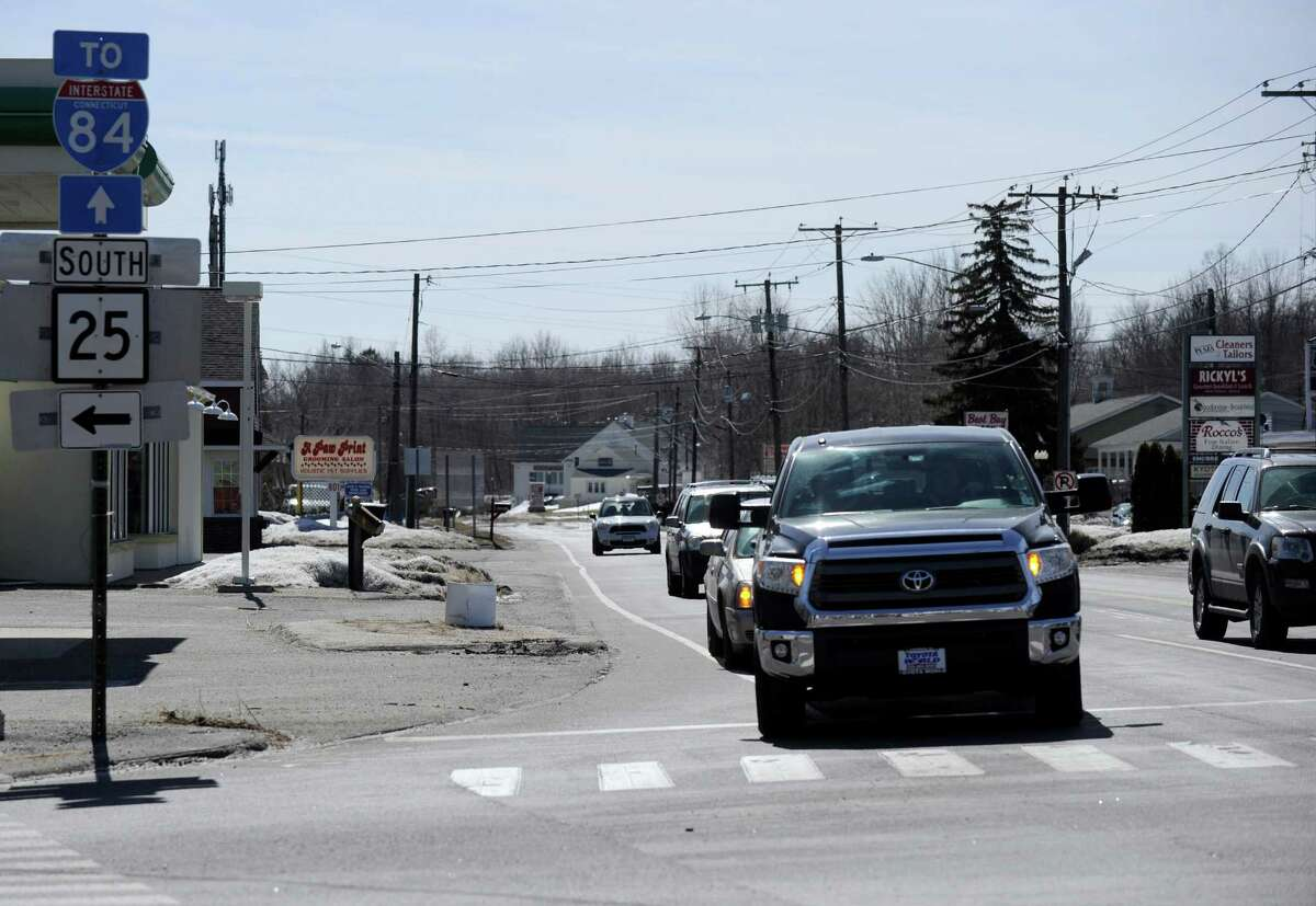 Brookfield is trying to create a village center in the Four Corners area of town with a mix of housing and businesses.