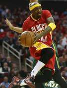 Houston Rockets guard Jason Terry (31) looks to dish the ball in the second half against Utah Jazz on Thursday, Jan. 7, 2016, in Houston. Rockets won the game 103-94.( Elizabeth Conley / Houston Chronicle )