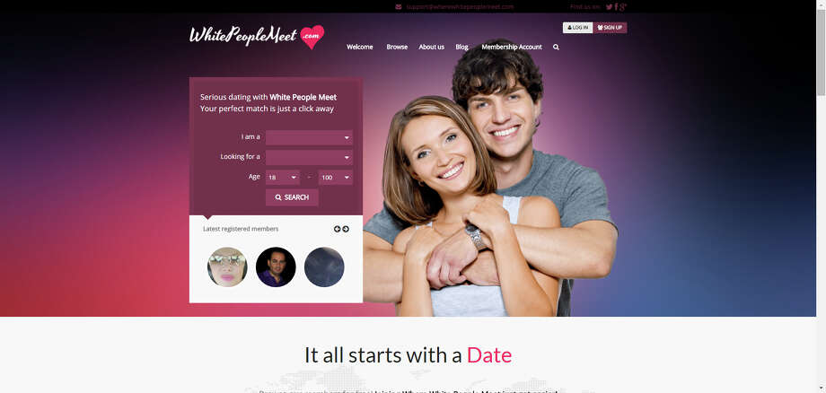 Dating can be hard, but with these sites you can meet someone who fits even your most specific needs.Whitepeoplemeet.comShould it really be that hard to run into one another? Photo: Screen Shot