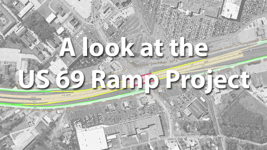 Take a look at how the U.S. 69 Ramp Project, which began in 2014, will alter Eastex Freeway.