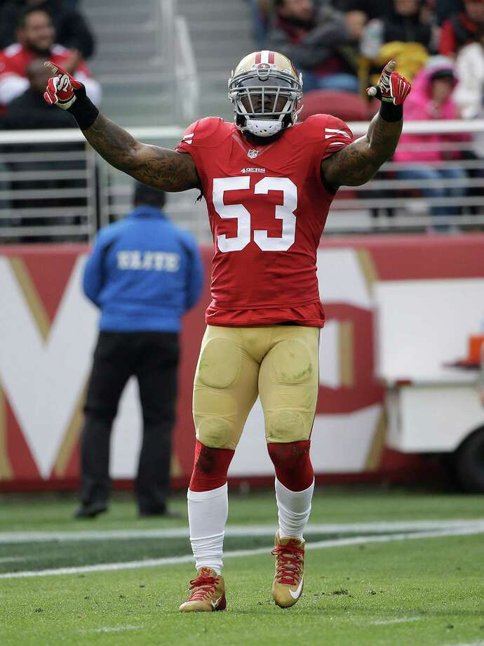 NaVorro Bowman. Photo: Marcio Jose Sanchez / Associated Press / AP