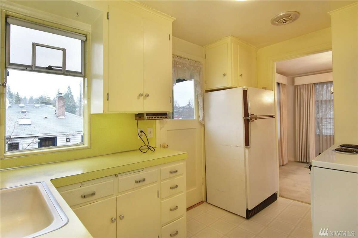 The kitchen in 2128 34th Ave. W.