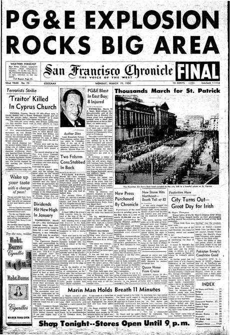 Chronicle Covers San Francisco Chronicle