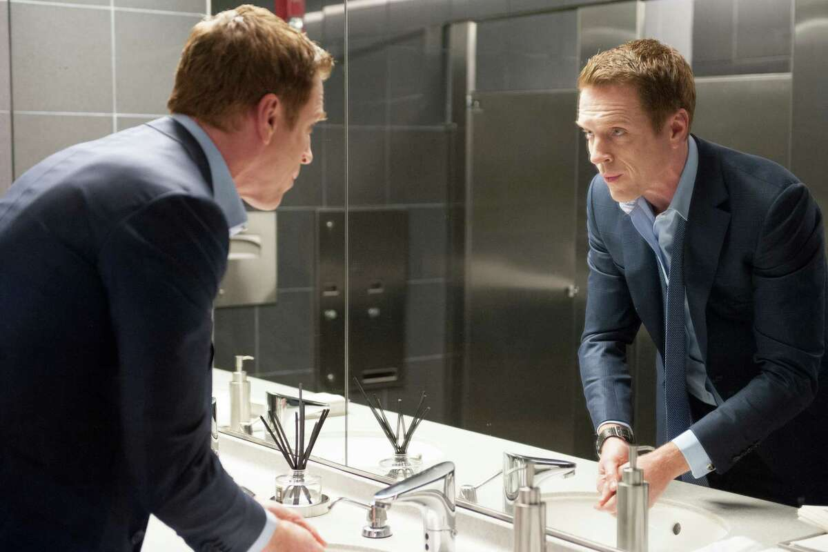 """Damian Lewis as Bobby """"Axe"""" Axelrod in the premier of """"Billions"""" slated to air on Showtime on January 17, 2016. Photo by JoJo Whilden courtesy of Showtime."""