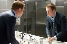 "Damian Lewis as Bobby ""Axe"" Axelrod in the premier of ""Billions"" slated to air on Showtime on January 17, 2016. Photo by JoJo Whilden courtesy of Showtime."