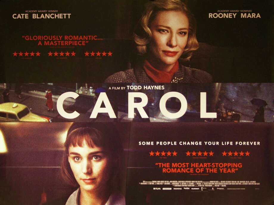 """Carol,"" the new movie adaptation of Patricia Highsmithís 1952 novel, ìThe Price of Salt,î stars Cate Blanchett and Rooney Mara. Photo: Contributed / Contributed Photo / Westport News"
